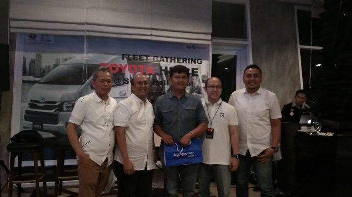 Gelar Gathering Bersama Pebisnis, Himawan Paparkan Keunggulan Toyota HiAce