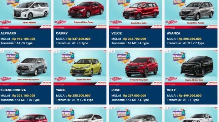 Daftar Harga Mobil Baru Toyota New Agya Rp 143 Juta New Calya Rp 144 Juta Termasuk Promo Di Jambi Halaman All Tribun Jambi