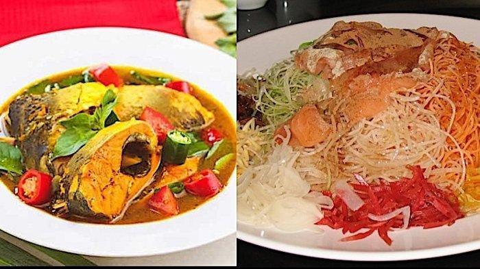 Resep Hidangan Imlek - Mie Goreng Jawa, Bandeng Kuah Kemangi, Yusheng, Sup Delapan Bentuk