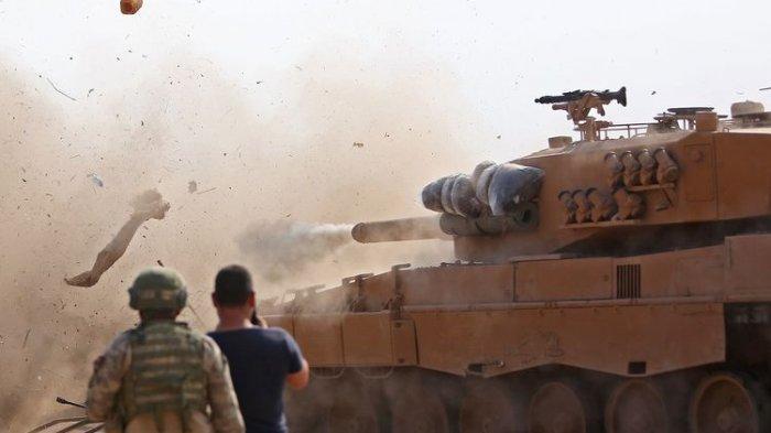 Nekat Melawan Amerika, Damaskus Berkomplot dengan Rusia, China dan Iran, Ini yang Terjadi di Suriah