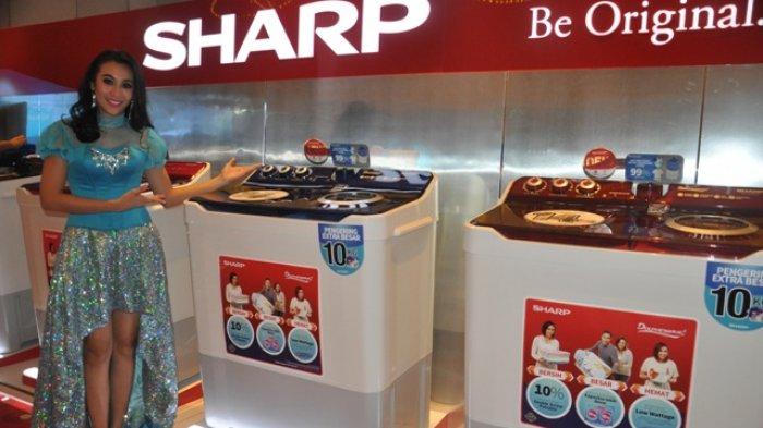SHARP Twin Tub Washing Machine 14 kg dan 12 kg