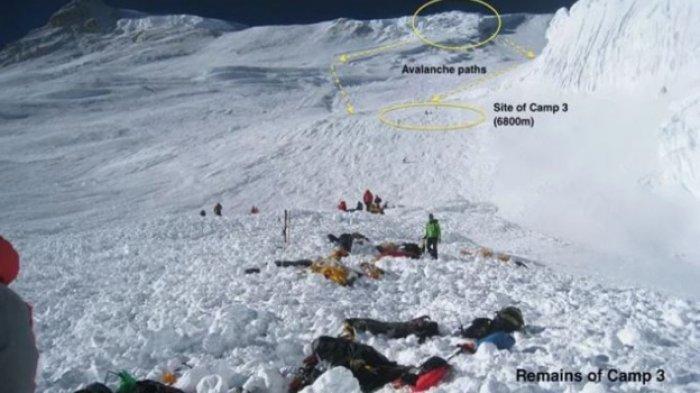 Ngeri! Ratusan Jasad Pendaki Gunung Everest yang Terkubur Bertahun-tahun Timbul, Ini Penyebabnya!
