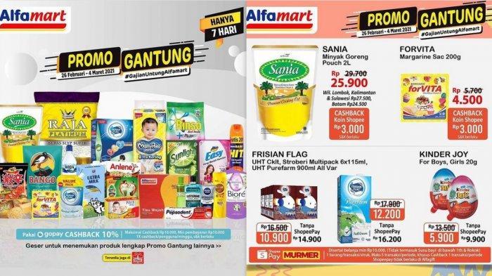 Promo Alfamart Hari Ini 2 Maret 2021 Produk Serba Rp 5.000 & Rp10.000, Promo Susu, Cokelat, Detergen