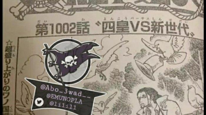 Spoiler Alert Oe Piece 1002 Yonkou vs New Generation - Luffy Kid Law Zoro Killer vs Kaido Big Mom