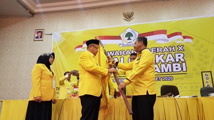 Cek Endra Jadi Ketua DPD Golkar Provinsi Jambi, Terpilih Secara Aklamasi saat Musda X
