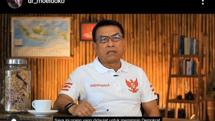 Moeldoko Bicara Soal Kepemimpinan Partai Domkrat hingga Alasan Mau Jadi Ketua Versi KLB Deli Serdang