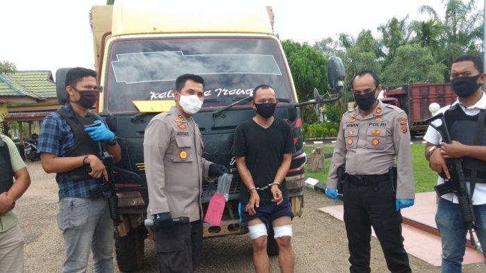 Dalam Hitungan Jam Polsek Jaluko Bekuk Pencuri Truk, Pelaku Dihadiahi Timah Panas