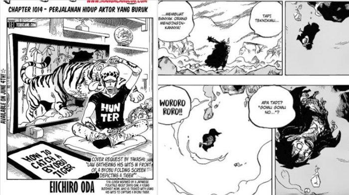 Rawr Scan One Piece 1014 Perjalanan Hidup Aktor yang Buruk - Kinemon Tebas Kanjuro Berubah Jadi Oden