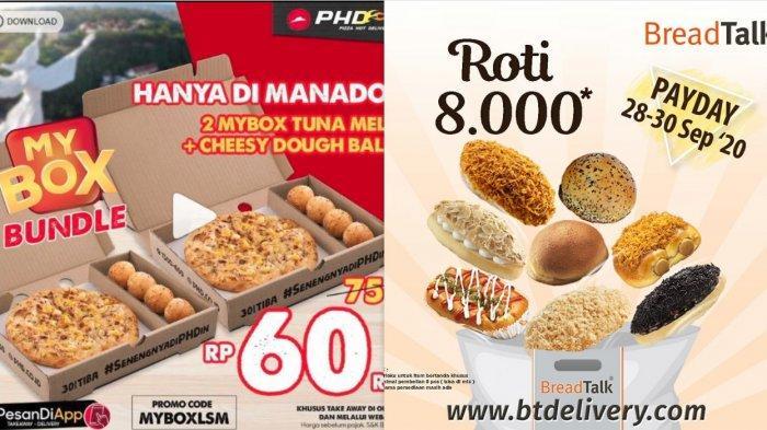 Promo BreadTalk dan PHD September 2020 - Big Box Hanya Rp 99 Ribu, Aneka Roti Hanya Rp 8.000