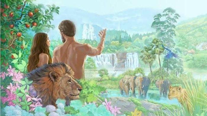Ilustradi Adam dan Hawa