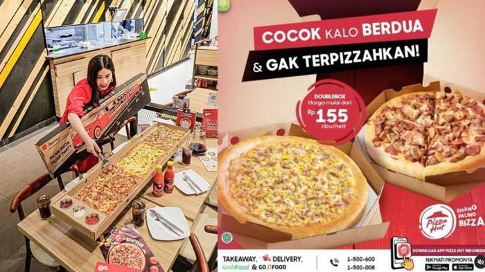 Promo Pizza Hut PHD 29 April 2021 Menu Buka Puasa Pizza HEBOH Cuma Rp17 Ribu Double Box Rp 49 Ribu