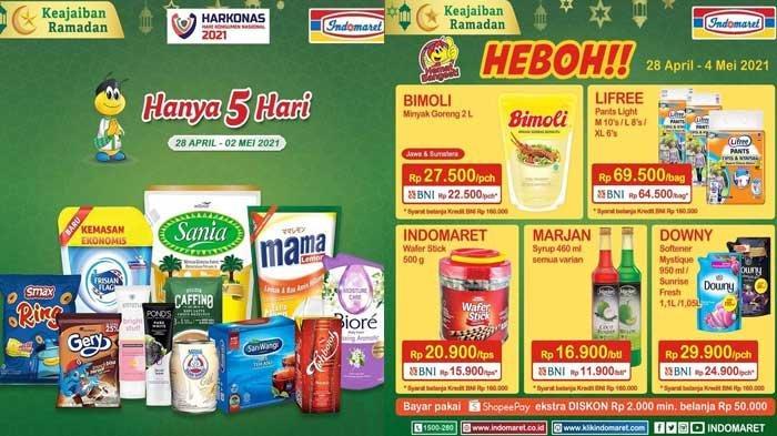 Promo Indomaret Terbaru 29 April 2021 Super Hemat Harga Heboh Minyak Goreng Diapers Susu Biskuit DLL