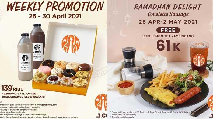 Promo JCO Hari Ini 29 April 2021 Beli 1 Lusin Donut 1 L JCOFFEE Hanya Rp 139Ribu Buy 1 Get 1 TREAT