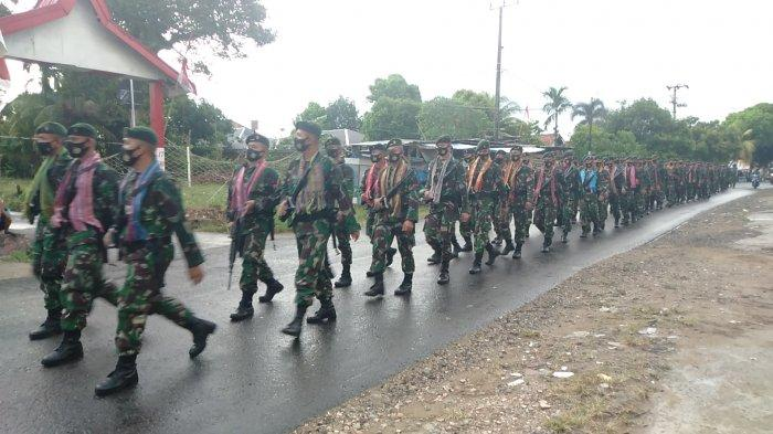 300 Prajurit TNI AD Batalyon Infanteri Rider 142/Ksatria Jaya Disiagakan, Siap Dikirim ke Jakarta