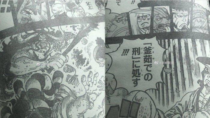 Spoiler One Piece 970 - Oden vs Kaido, Kaido Terluka Pedang Enma Oden, Pertaruangan Licik Oden Kalah
