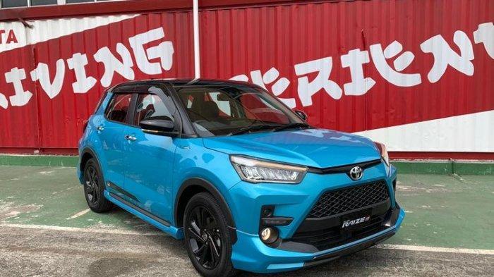 Daftar Harga Toyota Raize Mulai Rp 219 untuk Tipe 1.0 G M/T Single Tone