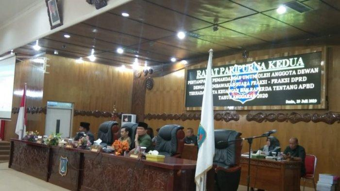 Fraksi DPRD Tanjab Barat Setujui Ranperda APBD 2020