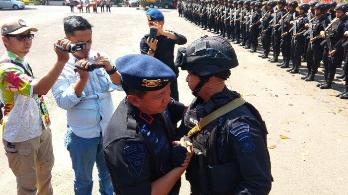 250 Anggota Brimob Polda Jambi BKO ke Papua, Ini Doa Kapolda Jambi