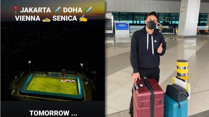 Bertolak dari Jakarta, Egy Maulana Vikri Dirumorkan Bergabung dengan Klub Slovakia FK Senica