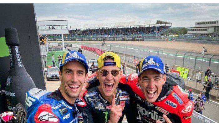 Klasemen Sementara MotoGP 2021 - Fabio Quartararo Jawara, Valentino Rossi Peringkat 21