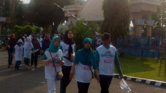 Peserta Jalan Sehat Tribun Jambi Tempuh Rute 3,1 Km, Rani: Tadi Sempat Mau Nyerah