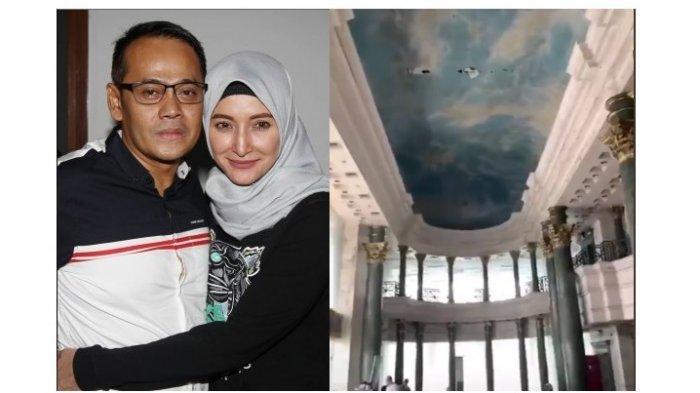 VIRAL, Penampakan Hantu Perempuan Baju Merah di Lantai 3 Menara Saidah Suami Inneke Koesherawati