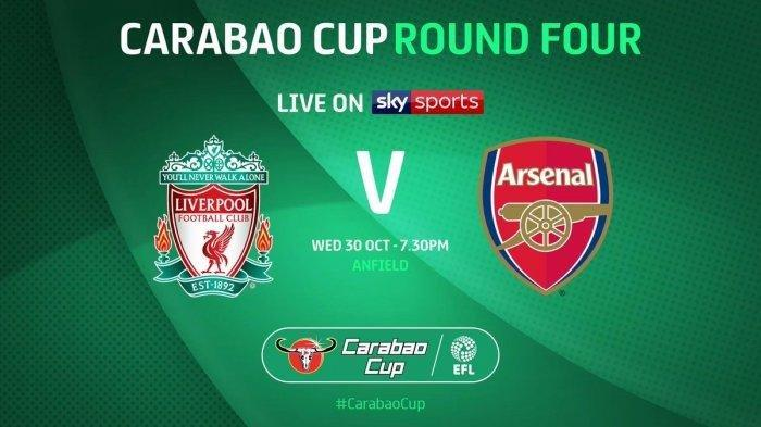 Sedang Tayang! Live Streaming Piala Liga Inggris Liverpool Vs Arsenal Live MolaTV