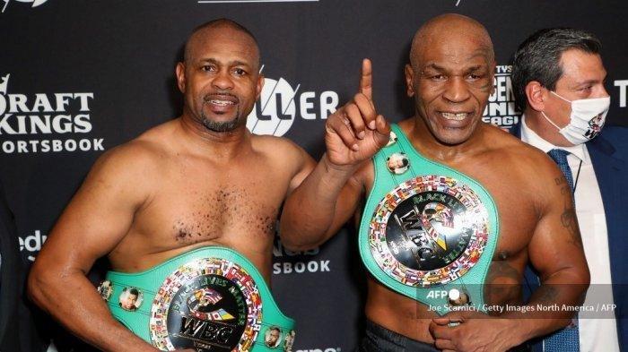 Fakta Pertarungan Mike Tyson dan Roy Jones Jr, Tanpa Tes Ganja, Untuk Amal hingga Hasil Imbang