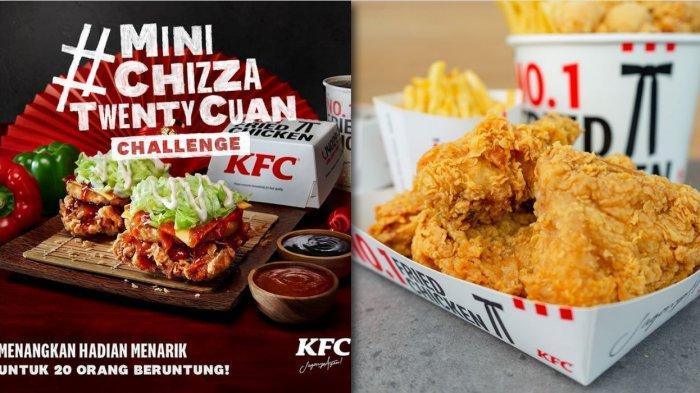 Promo Terbaru KFC 5 Februari 2021, Ada Menu Baru, KFC PLATTERS, Mini Chizza, DLL