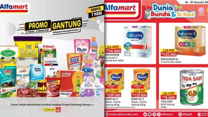 Promo Alfamart Hari Ini 30 Januari 2021, Diskon Beras Susu Minyak Goreng Detergen Pencuci Piring DLL