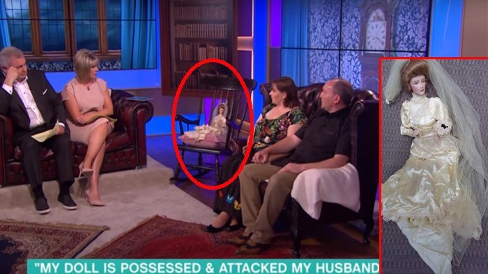 Heboh! Siaran di TV, Tiba-tiba Kursi Boneka Ini Bergerak-gerak, Hiiii, Merinding!