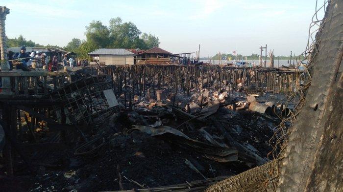 Lobi Berhasil, Kemensos Beri Bantuan Korban Kebakaran Kuala Simbur dan Pangkal Duri