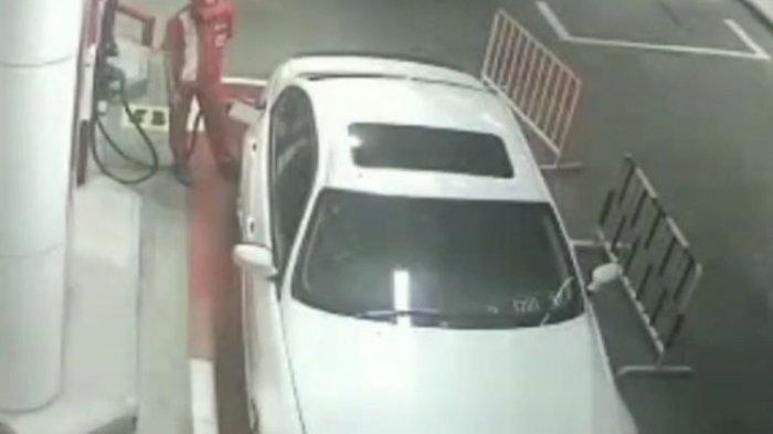 Sempat Viral Karena Kabur Setelah Isi BBM, Pengemudi BMW Balik Lagi ke SPBU Bawa Keluarganya