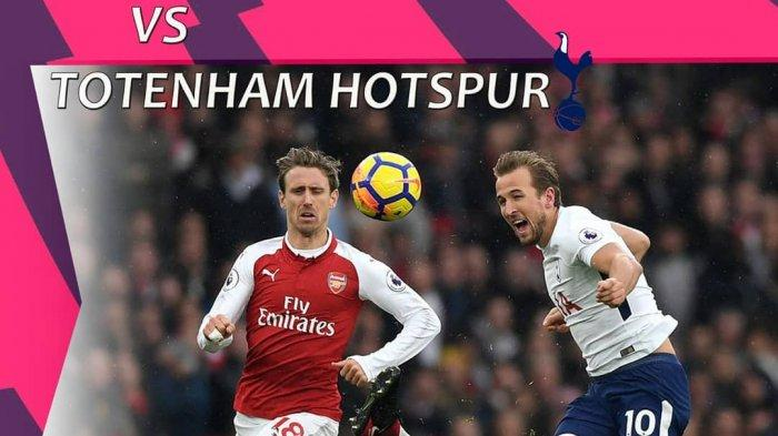 LIVE Streaming Liga Inggris 2019/2020 Arsenal vs Tottenham Nonton di HP Online Mola TV, Langsung