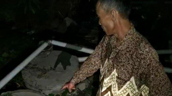 BIADAB Anak Habisi Nyawa Ayah Kandung dengan Kapak, Istri Histeris Temukan Suami Dalam Septic Tank