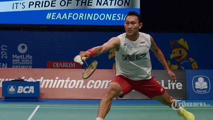 Dua Wakil Indonesia di Tunggal Putra, Menang di Babak Pertama Thailand Open 2019