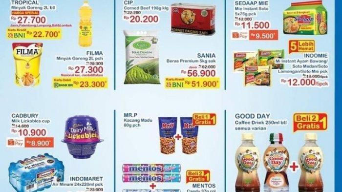 Promo Indomaret Awal Bulan Agustus 2021 Diskon Minyak Goreng Susu Diapers Produk kecantikan Detergen