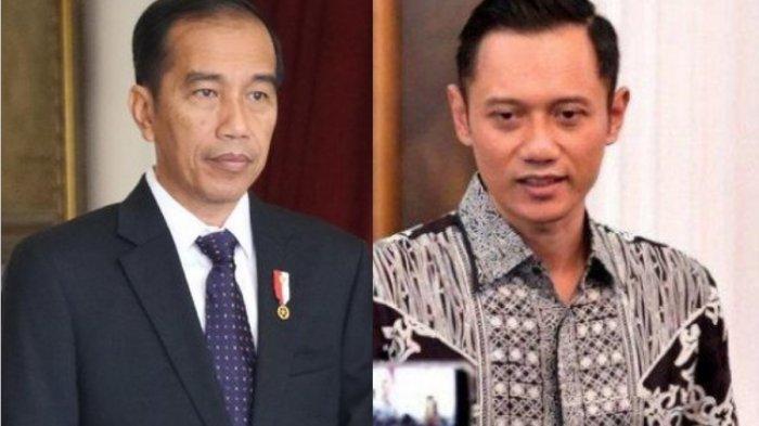 AHY Gigit Jari! Namanya Tak Disebut Jokowi Saat Pengumuman Kabinet Menteri, Begini Reaksi Ibas