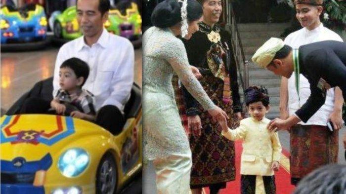Sepatu Cucu Jokowi Merk Gucci Jadi Sorotan Saat Hadiri Upacara HUT Kemerdekaan, Harganya Fantastis!