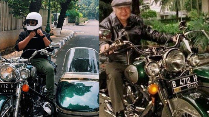 Anak Tommy Soeharto Pamer Motor Harley Kesayangan Soeharto, Ternyata Harganya Bikin Pusing Kepala!