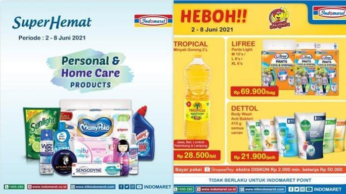 Promo Indomaret Hari Ini 3 Juni 2021 Promo Minyak Goreng Diapers Sabun Mandi Susu Aneka Snack