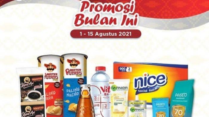Promo Indomaret Terbaru 3 Agustus 2021 Promo Merdeka, Diskon Minyak Susu Tissue Kopi Vitamin