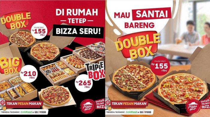 Promo PHD Spesial Valentine 14 Februari 2021, Promo Bucin 2 Pizza Cuma Rp 88.000