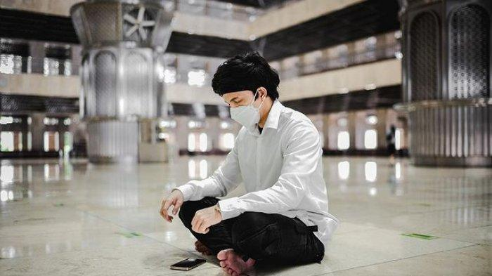 Atta Halilintar saat di Masjid Istiqlal