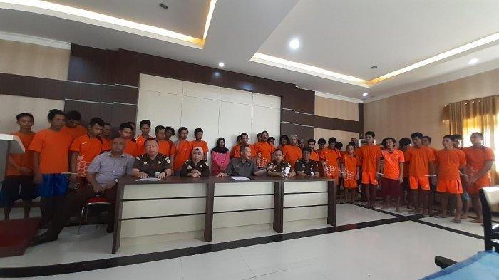 Ada 10 Warga Suku Anak Dalam, Diantara 43 Tersangka SMB yang Dilimpah ke Jaksa Penuntut Umum