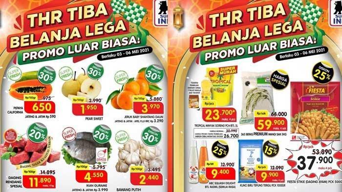 Promo Superindo Terbaru 7 Mei 2021 Diskon Hingga 45% Buah Melon Diskon 20% Daging Rendang Rp8.955