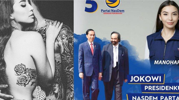 Gagal Telak Pileg 2019, Manohara Pamer Foto Seksi, Tato di Tubuhnya Tuai Cibiran, Sebut Efek Gagal