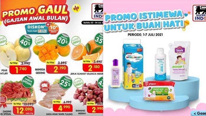 Hari Terakhir Promo Superindo Periode 1-4 Juli 2021, Promo Gaul Diskon Hingga 45% dan Harga Spesial