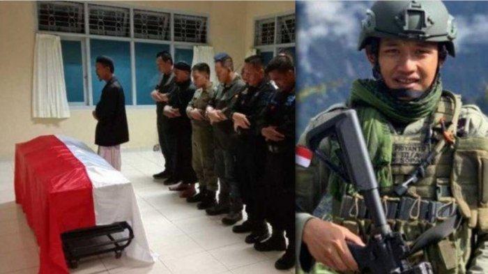 Gugur 3 Jam Baku Tembak dengan KKB Papua, Begini Kisah Haru Bharatu Anumerta Doni Priyanto