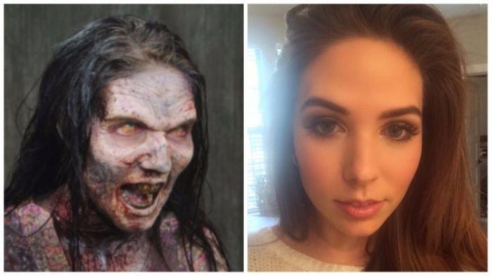 5 Wajah Asli Pemeran Hantu yang Menakutkan di Dalam Film, Ternyata. . .